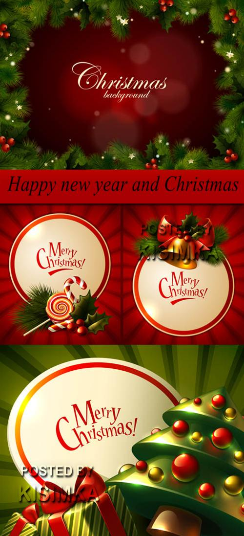 Stock: Happy new year and Christmas 4