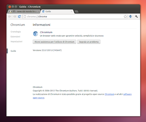 Ubuntu 12.10 - Chromium
