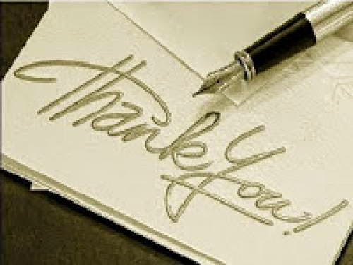 Thanks To You All