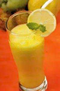 Jus Buah Rambutan Campur Mangga