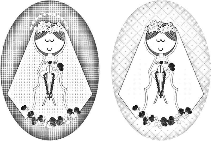 Dibujos Católicos : Virgencita Plis Para Colorear