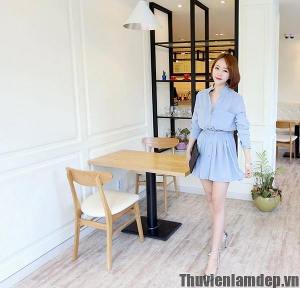 """Xu hướng Xuân Hè 2016: Xanh Baby Blue lên ngôi-""""Chìa khóa vàng"""" giúp cô nàng mặc đẹp quyến rũ hơn trong năm mới"""