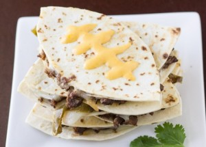 Image result for football quesadillas
