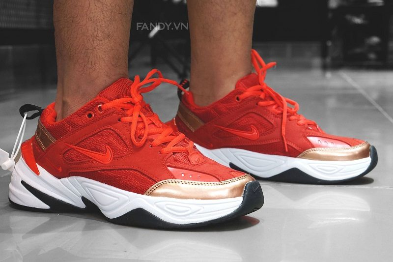 "Giày Nike M2K Tekno ""Red Suede"""