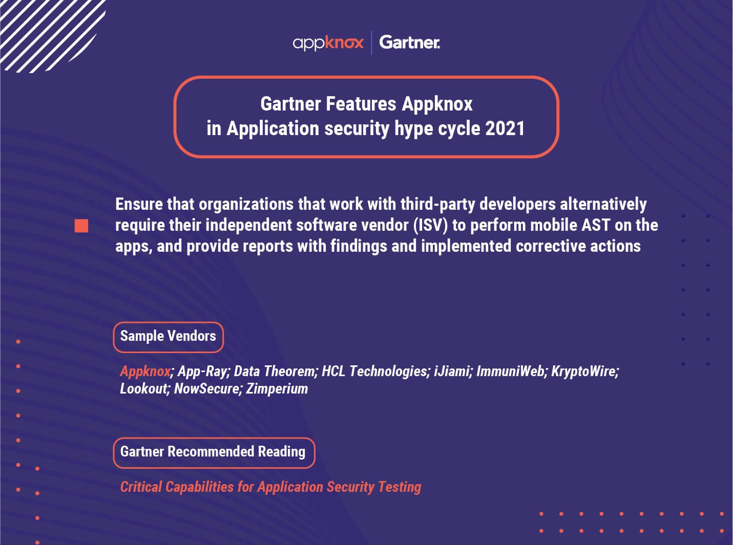 Appknox Has Been Named a Vendor In Gartner Hype Cycle For Application Security 2021
