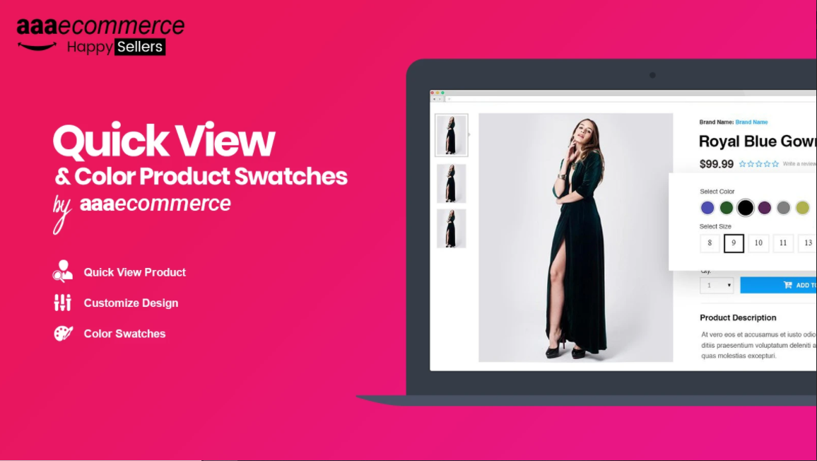 Shopify quick view app to speed up shopping