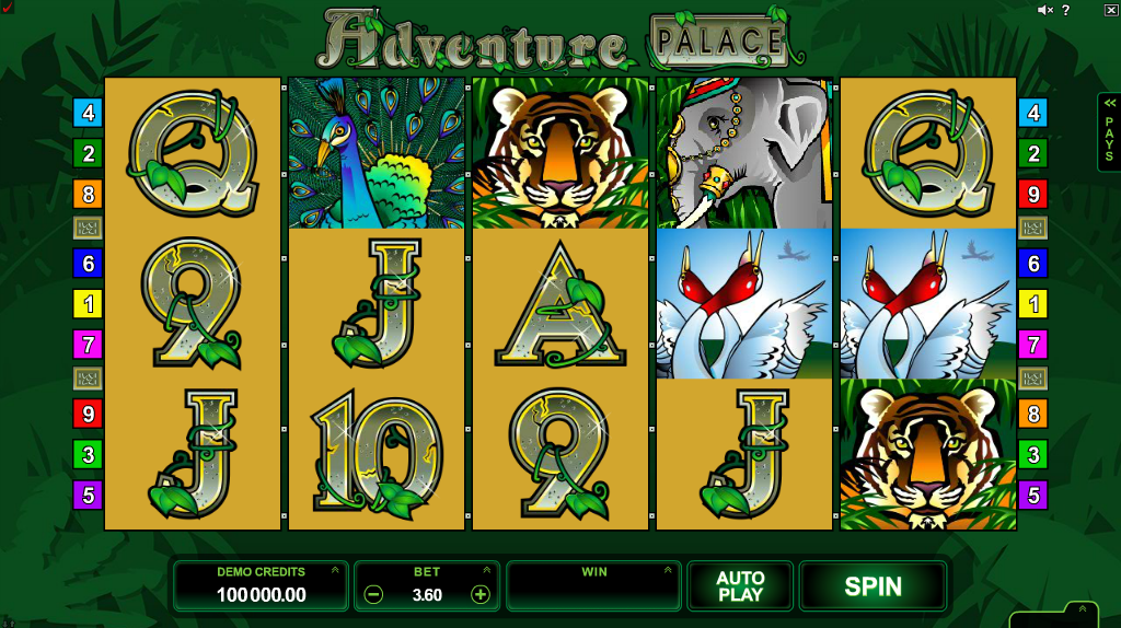 Adventure Palace Slots Game Review