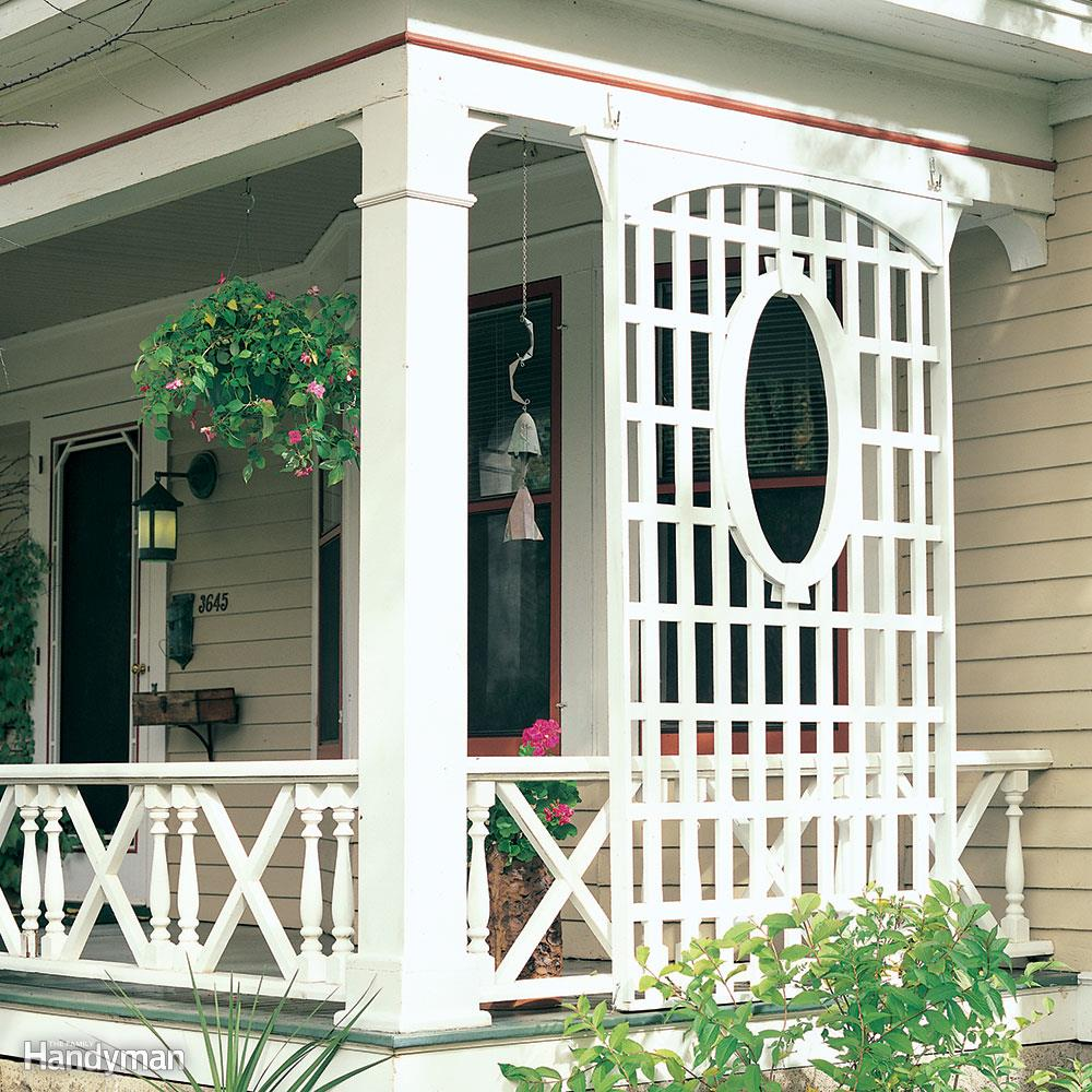 Porch Trellis: These projects will help you transform your space.