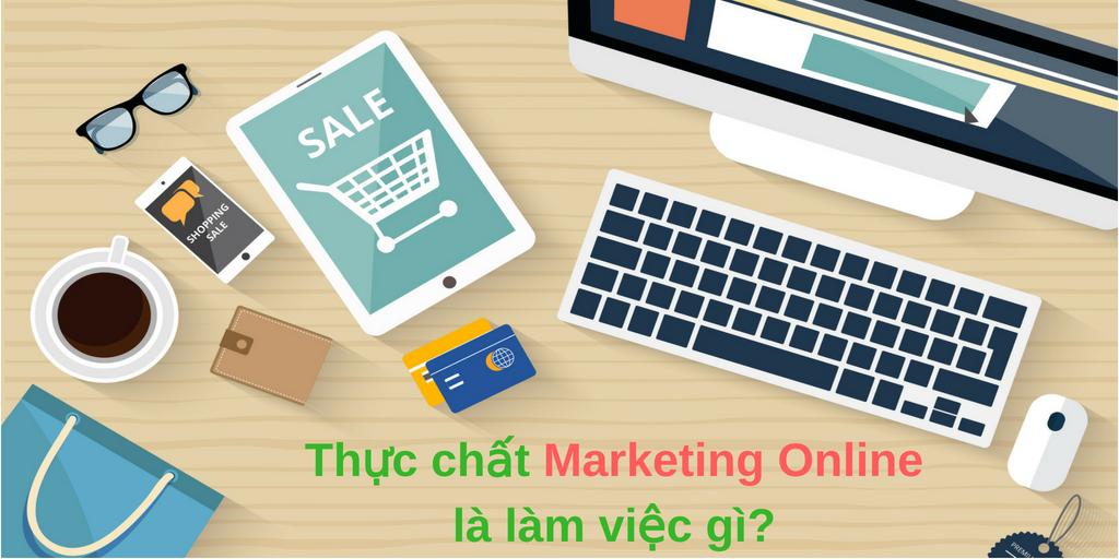 học marketing online là làm gì