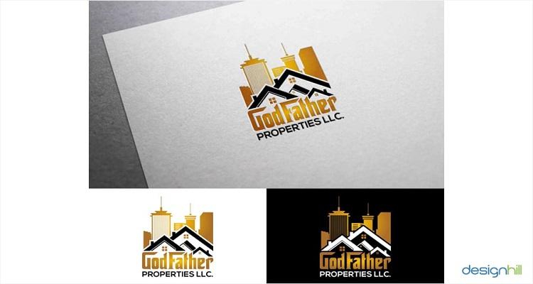 real estate logos godfather properties