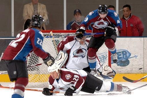 Ice Hockey, Goalie, Goal, Sport, Team