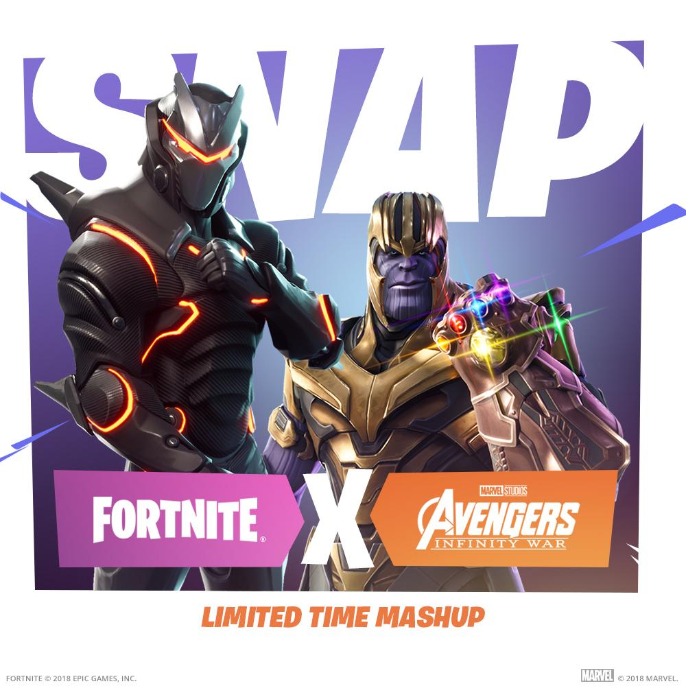 Fortnite's X Avengers Limited time Mashup