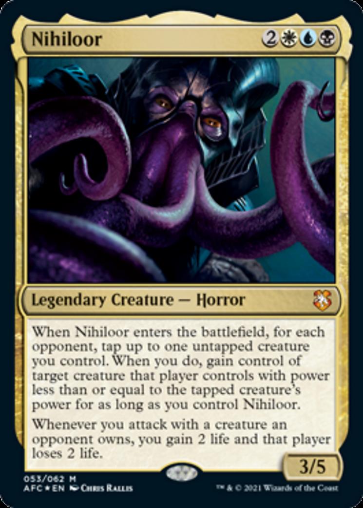 Nihiloor MTG Card