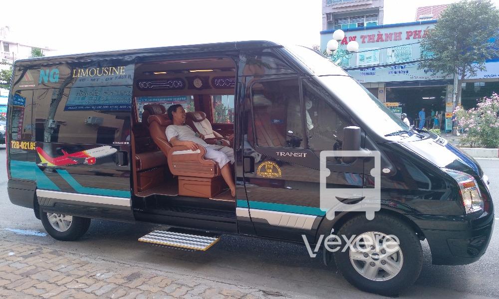 Xe Huy Hoàng Limousine đi Vũng Tàu