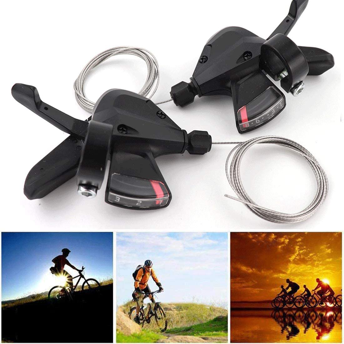 Trigger shifters are better for gentle rides because 2 of your fingers need to be off-grip