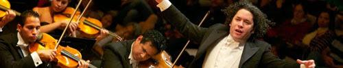 Caracas aplaudió a Gustavo Dudamel y a las voces de El Sistema