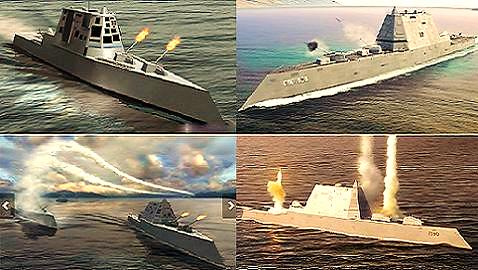 Image result for hình ảnh tàu siêu tàng hình ddg-1000