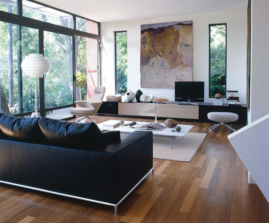 Thiết kế phòng khách đơn giản mà sang trọng