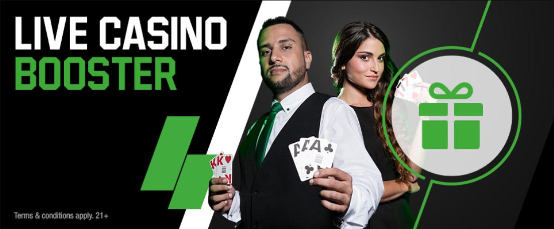 Unibet NJ casino bonus and promos
