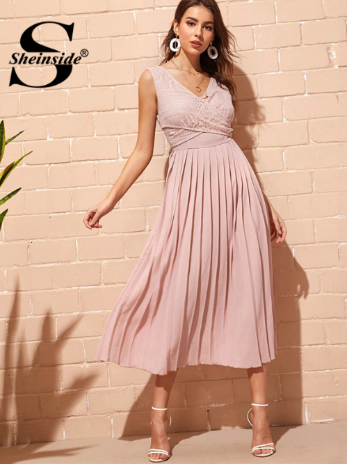 SHEIN long summer dress