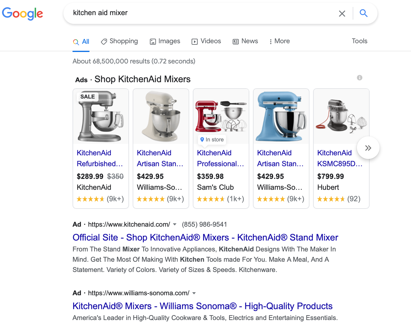 Google Ads holiday PPC campaign