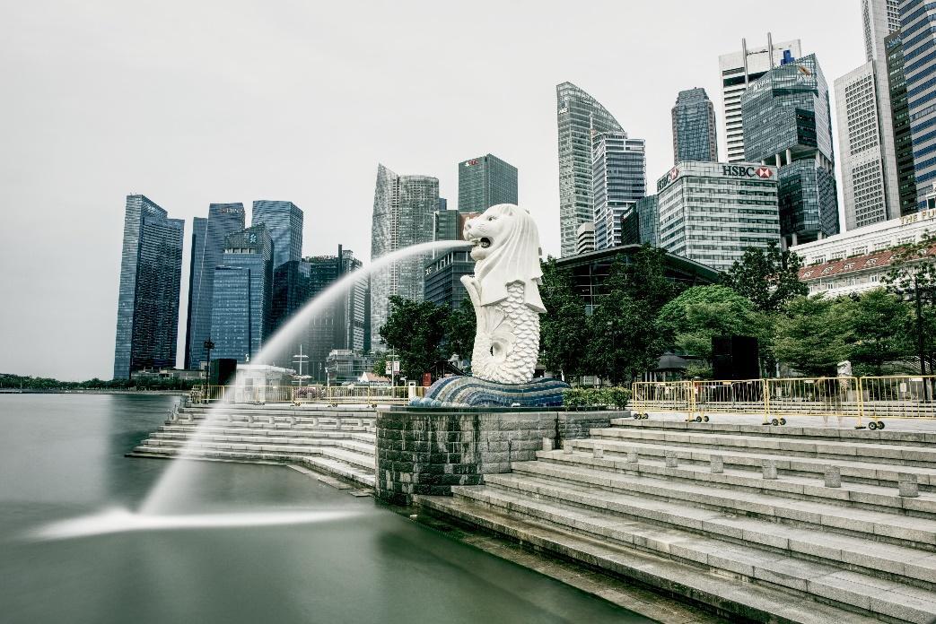 Merlion Park Singaproe