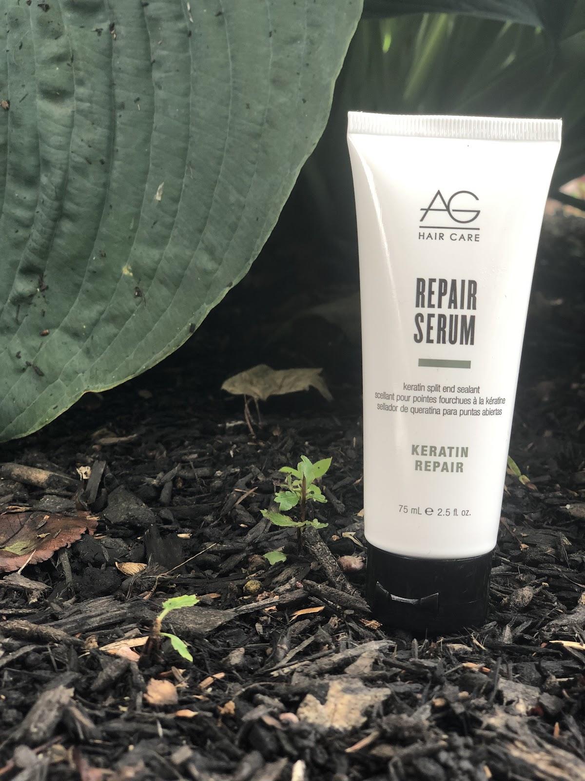 blonde maintenance columbus ohio: AG repair serum