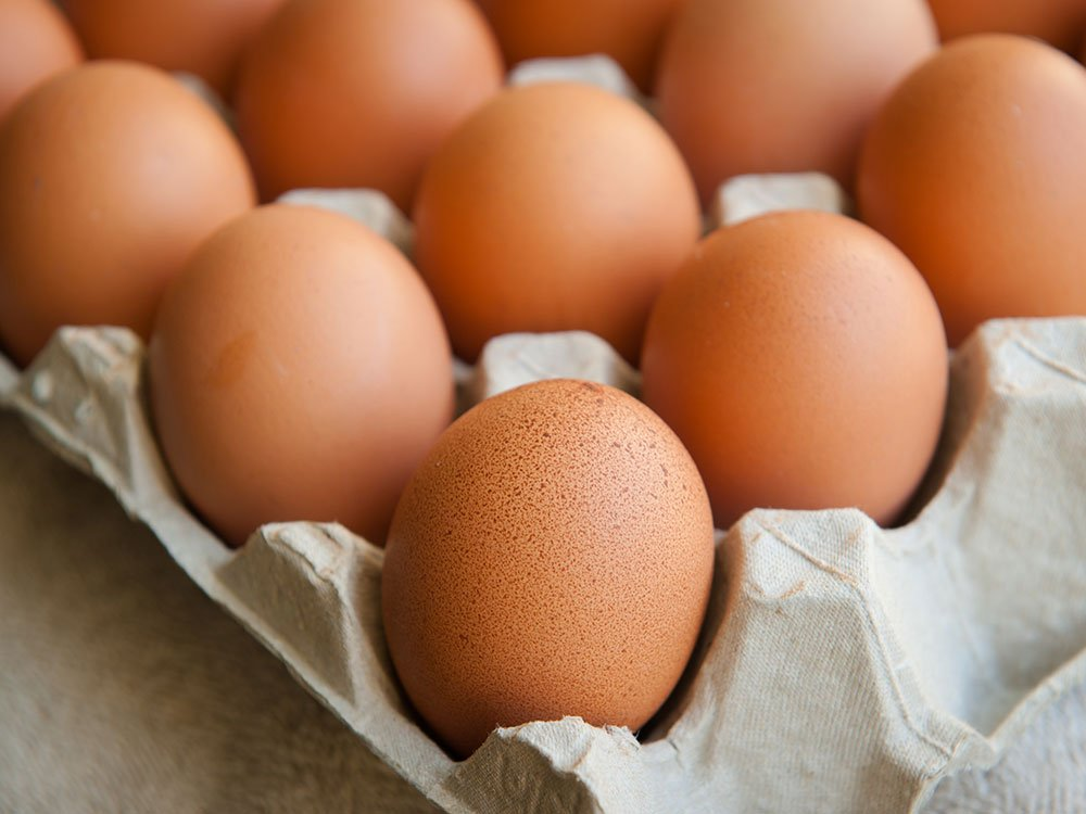 Essential vitamins your body needs: Vitamin E from eggs
