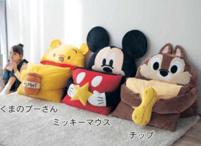 日本, DISNEY, 迪士尼, 米奇, 維尼, 懶人必備, 睡墊