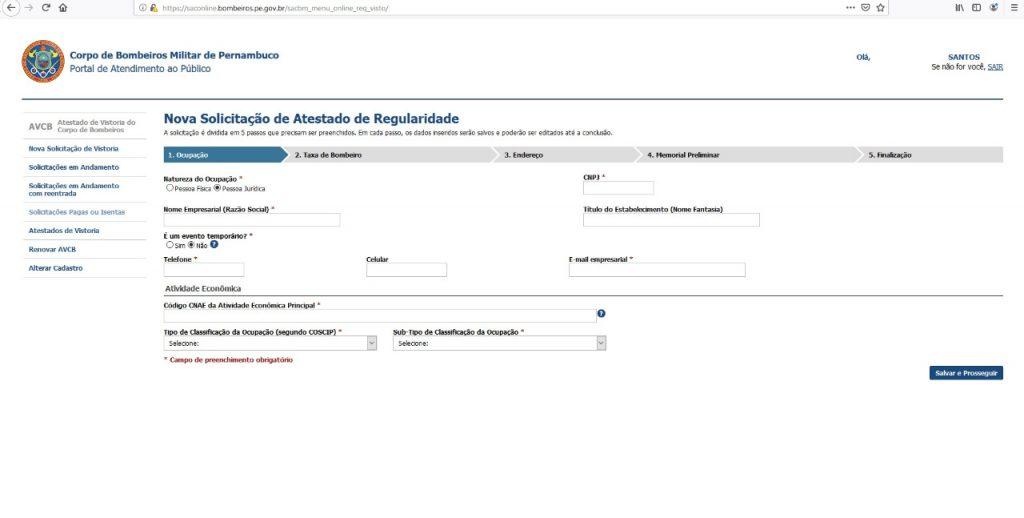 Portal de Atendimento ao Público