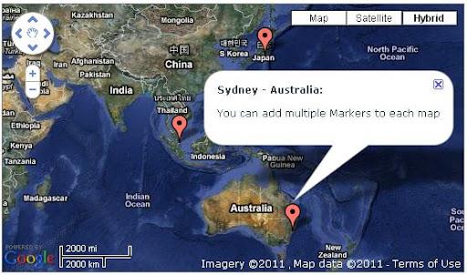 Google Map - View
