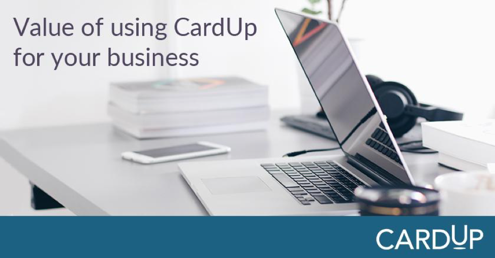 4 benefits of using CardUp for your business