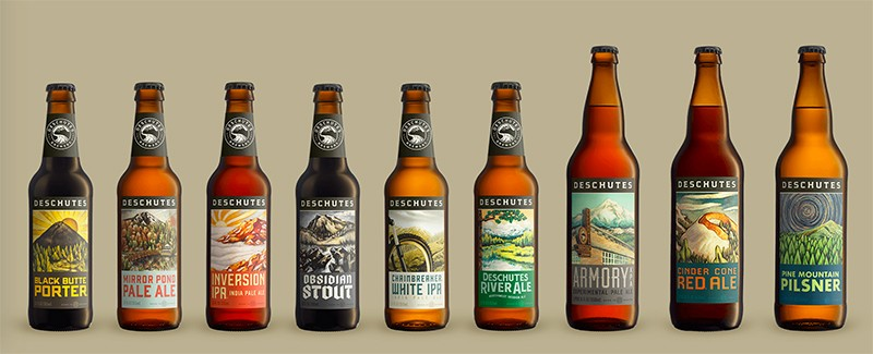 Craft beer de la brasserie Deschutes