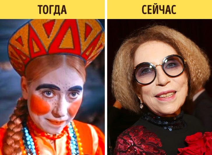 Как изменились актеры наших любимых сказок, которые мы смотрели в детстве - Инна Чурикова