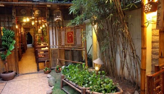 Khu sinh thái hương tràm thích thú với ẩm thực và không gian