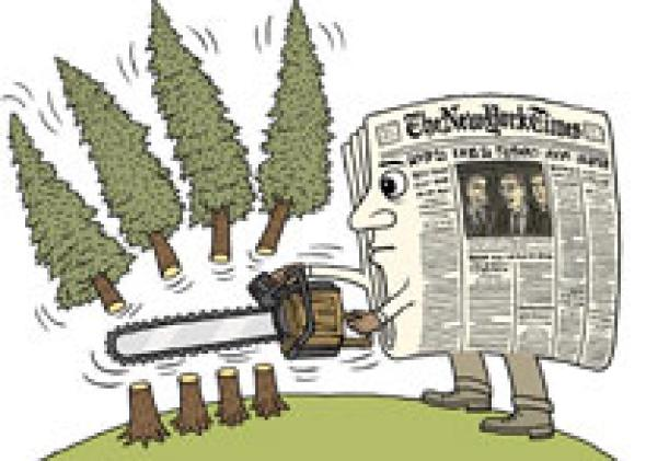 Image result for newspapers not eco friendly