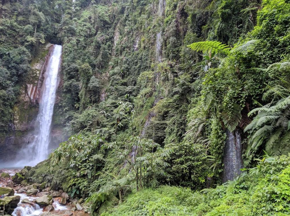 curug seribu best waterfalls near jakarta