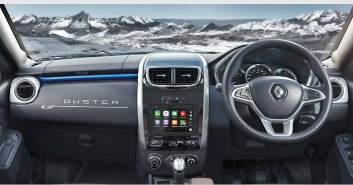 renault duster bs6 interior