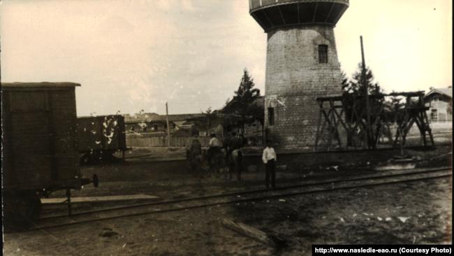 Станция Ин на Транссибе, 1928–29 годы