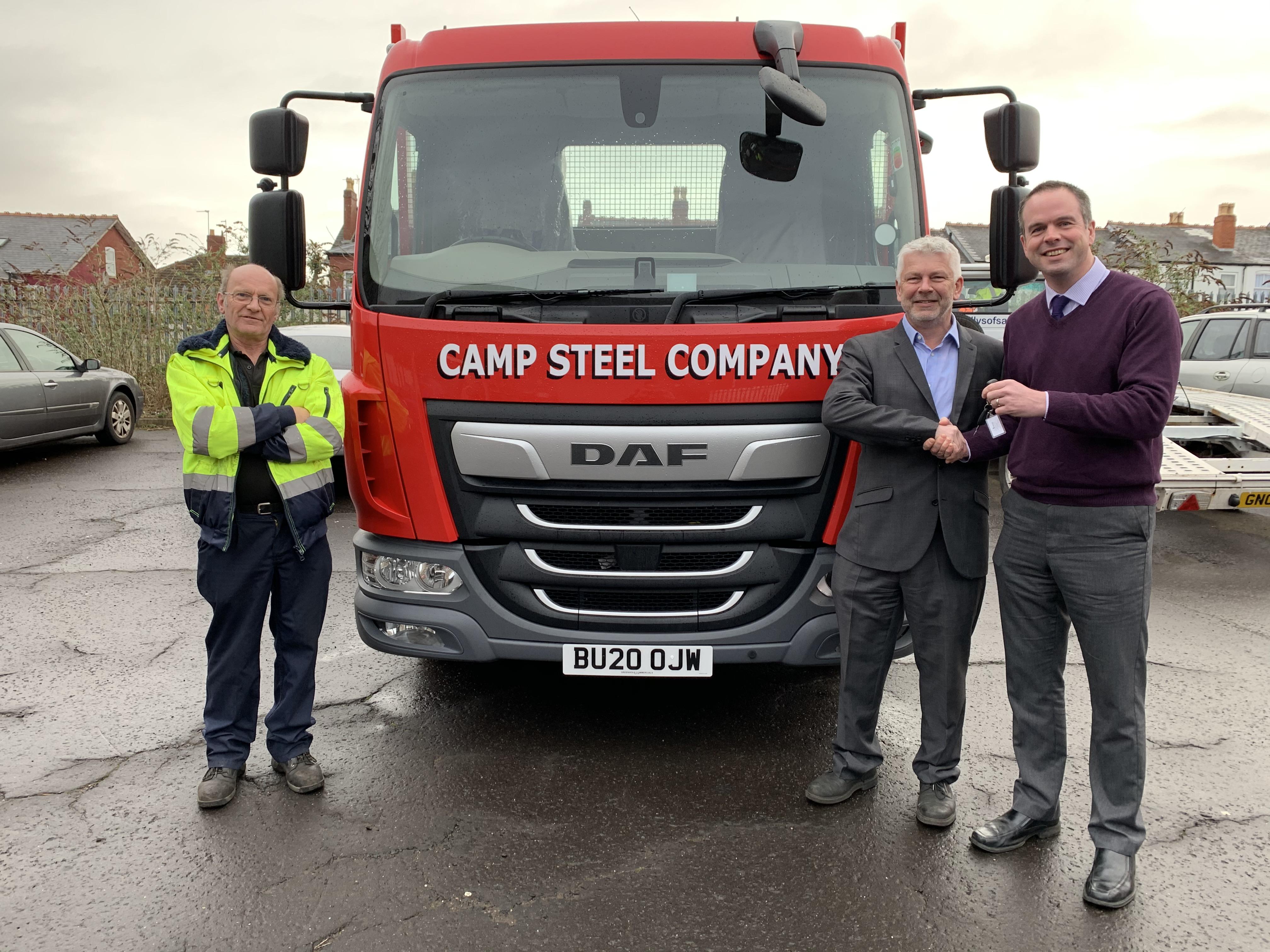 Camp Steel Prepare for Birmingham City Centre Clean Air Zone