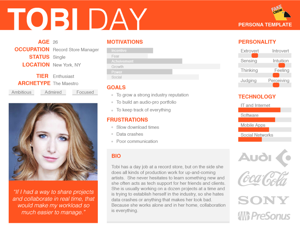 example of an ideal customer profile.