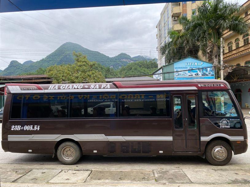 Xe Cường Thịnh từ Hà Giang đi Sapa