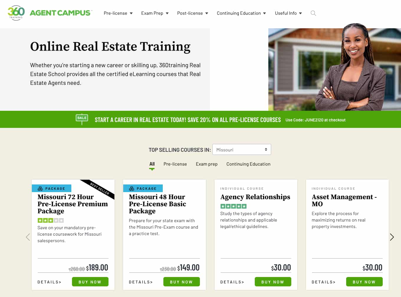 Real Estate Courses 360 Training