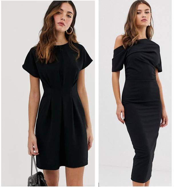 classic wardrobe essentials little black dress asos
