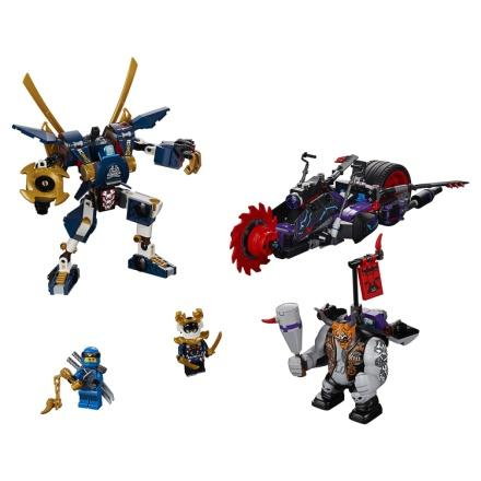 Конструктор LEGO NINJAGO 70642: Киллоу против Самурая Икс ...