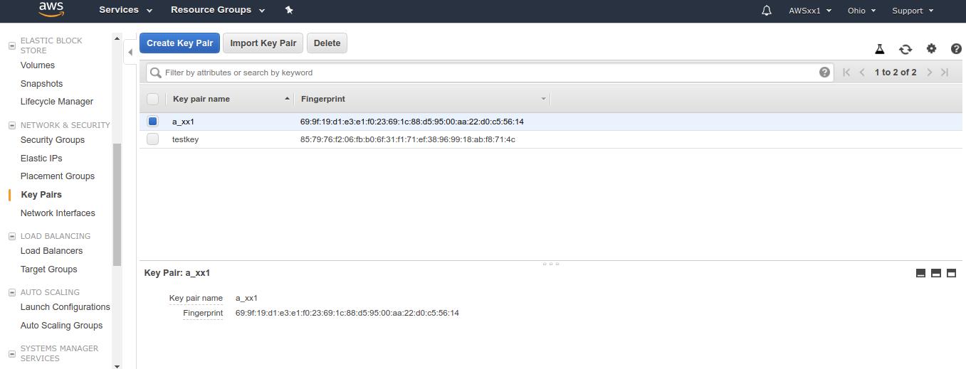 Amazon AWS instance 3