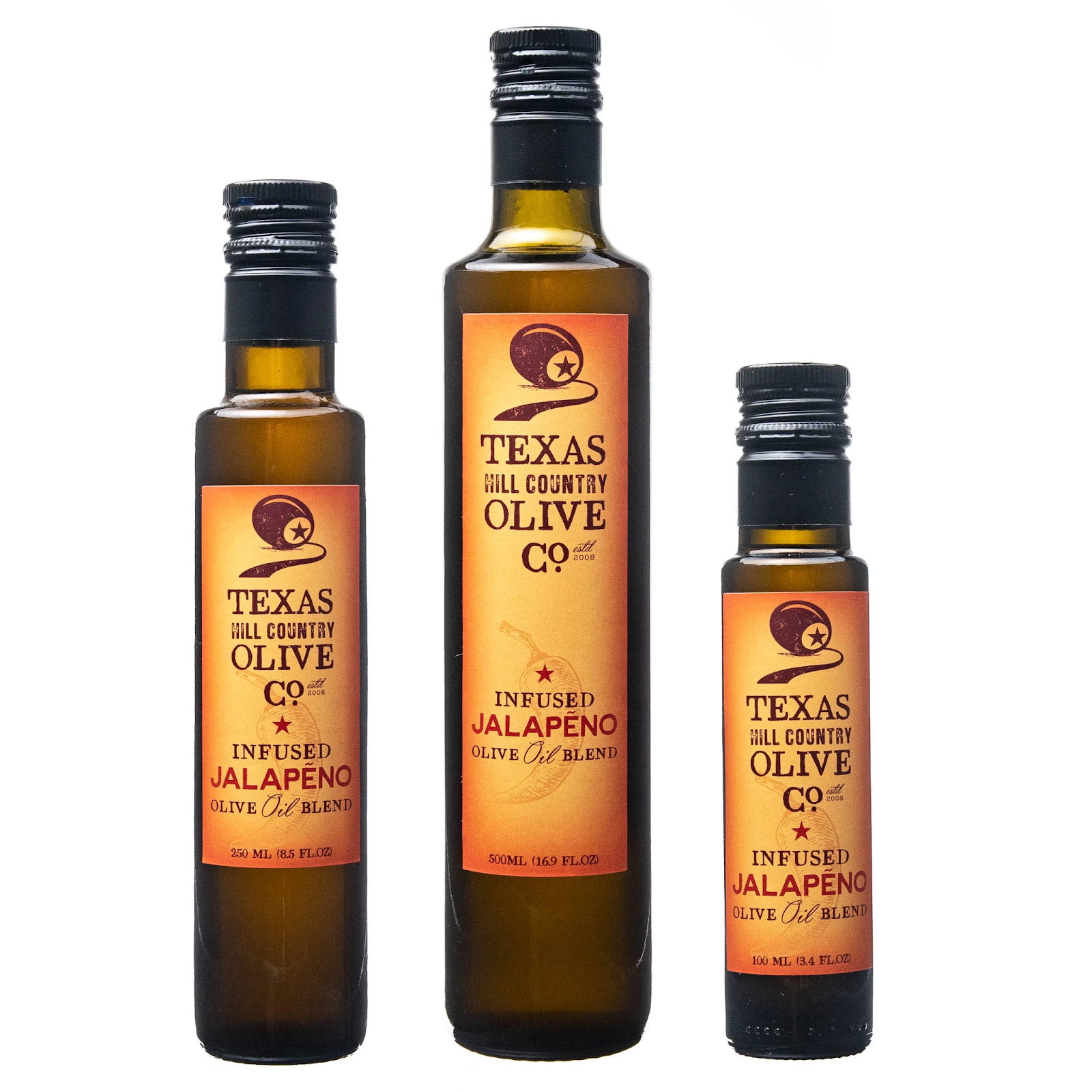 Jalapeño Infused Texas Olive Oil