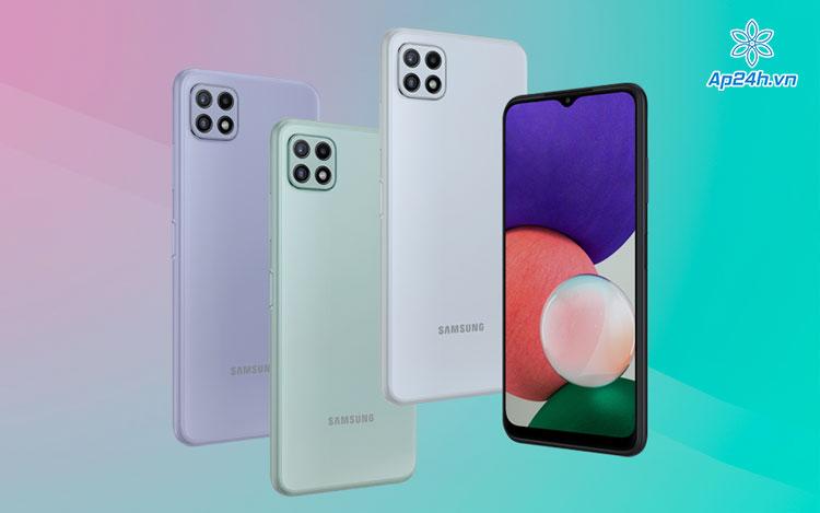 Phiên bản Galaxy A22 5G Quốc tế sẽ có 4 cảm biến ở mặt sau