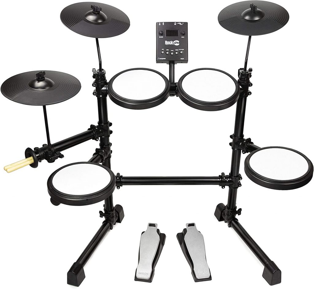 Rockjam Mesh Head Kit Eight Piece Electronic Drum Kit