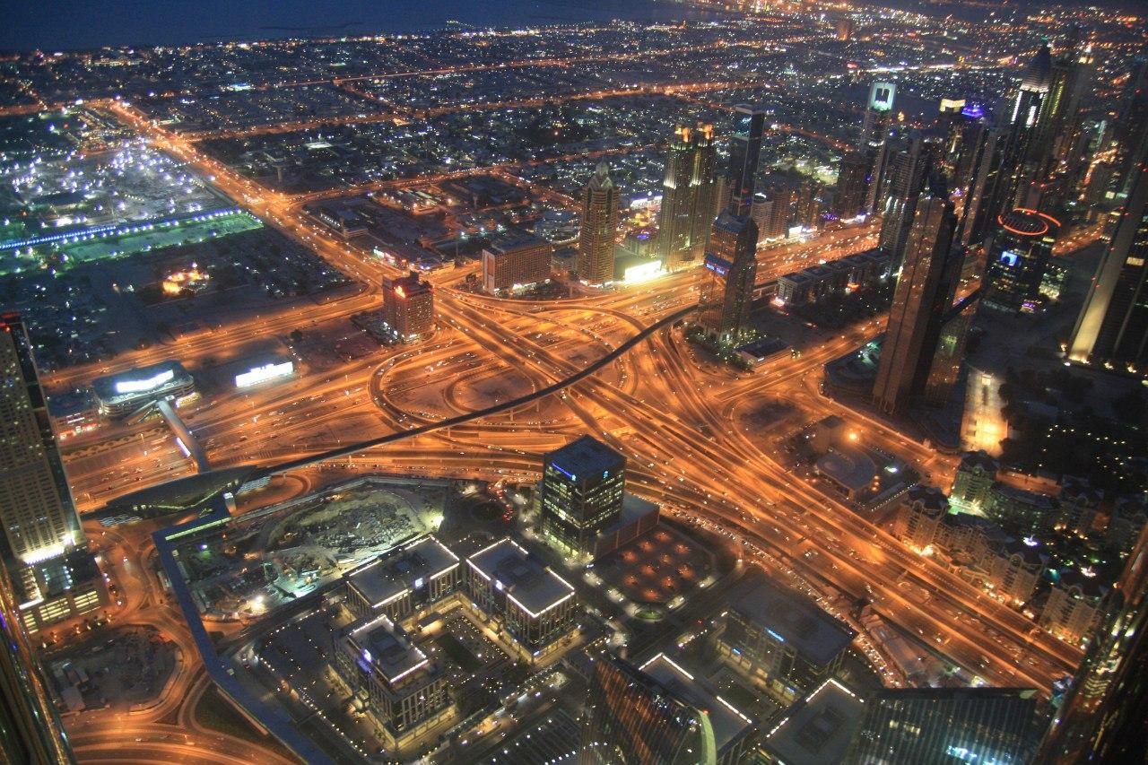 Транспортна розв'язка в Дубай